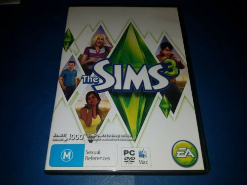 The Sims 3: PC DVD ROM MAC GAME IN VGC