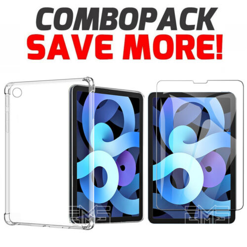 """For Apple iPad Air 4 Case 10.9"""" 4th Gen 2020 Clear Heavy Duty Shockproof Cover"""