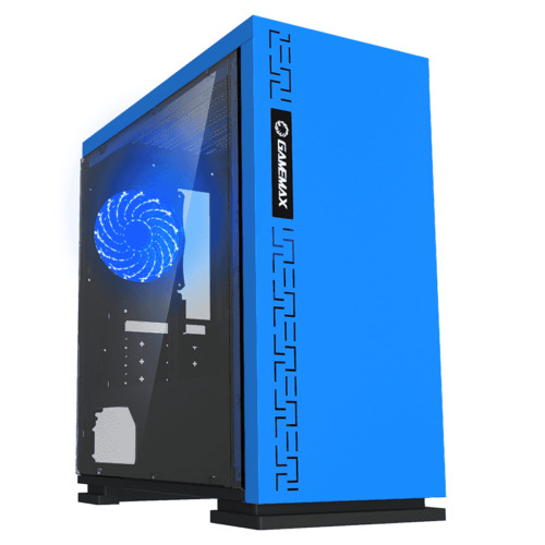 GAMEMAX H605 Expedition Blue LED Gaming PC Computer Case