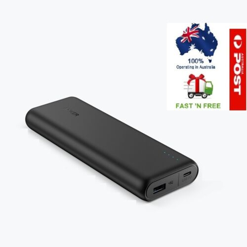 Anker PowerCore Power Bank Speed 20000 PD Power Bank Portable Charger - Black