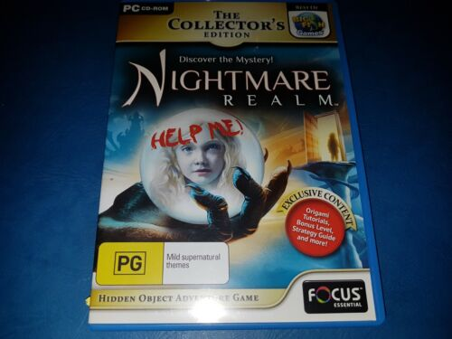 The Collectors Edition Nightmare Realm PC CD ROM