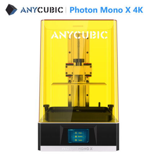 In Stock ANYCUBIC Photon Mono X Photocuring SLA 3D Printer 192x120x245mm 4K LCD