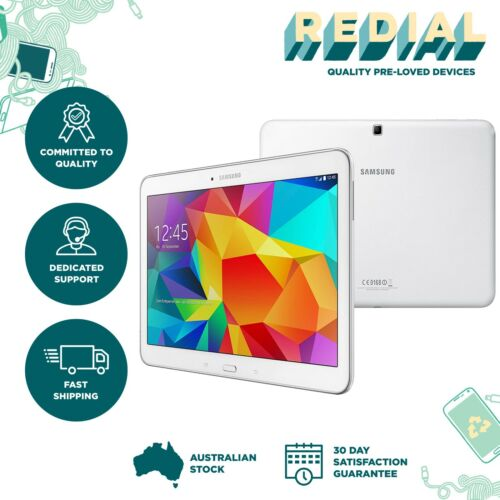 Samsung Galaxy Tab 4 SM-T535 |WIFI+4G|16GB| White| Express Post| VERY GOOD