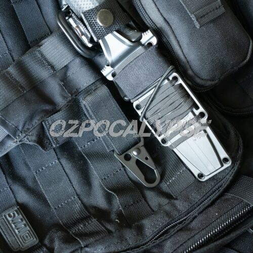 Tactical Clip - molle webbing military army hunting tbas edc paramedic security Modern, Current - 36066