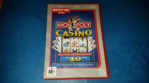 Monopoly Casino PC CD ROM GAME IN VGC