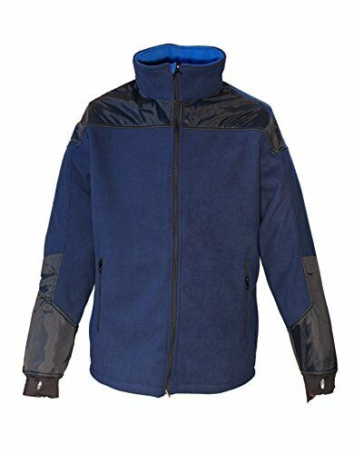 DEPROC-Active uomini Windbreaker e Windstopper, blu, M