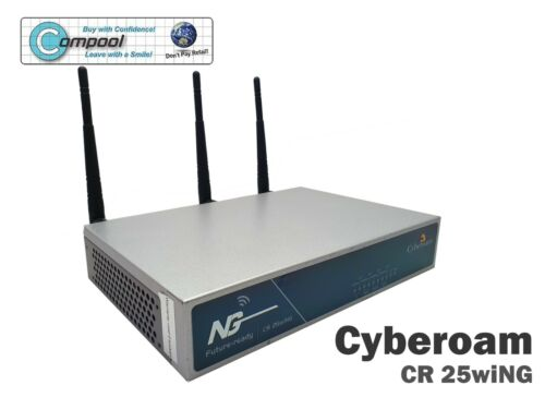 Cyberoam CR25wiNG Future-ready with Wi-Fi Access Point in Great Condition
