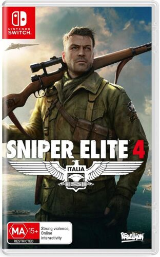 Sniper Elite 4 Nintendo Switch World War 2 In Italy Action Shooter Game NS
