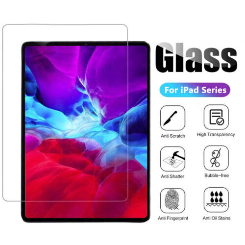 For iPad 5th 6th 7th 8th Gen Tempered Glass High Quality Screen Protector