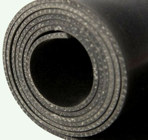 BLACK INSERTION RUBBER Sheet. 3  MM THICK X 120CM WIDE SOLD Per Meter 10m/roll