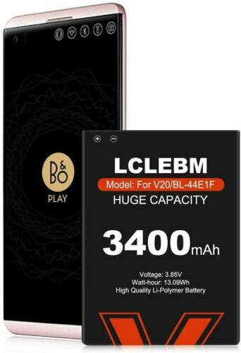 Battery Replacement for LG V20 BL-44E1F H910 H918 V995 LS997 Phone (3400-mAh)
