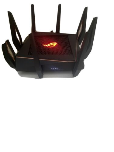 ASUS GT-AX11000 ROG Rapture AX11000 Tri-band Wi-Fi 6 (802.11ax) Gaming Router