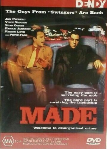 Made : Vince Vaughn : New Old Aus Stock : NEW DVD