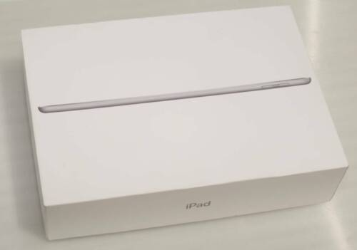 Apple iPad (6th Generation) 128GB Wi-Fi Cellular box & stickers