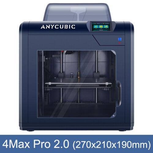 "Anycubic 4Max Pro 2.0 3.5""TFT TUltrabase Hotbed Big Print Size 270*210*190mm PLA"