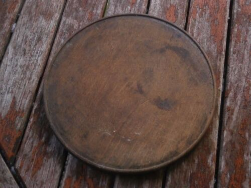 ANTIQUE VINTAGE WOODEN WOOD PLATE
