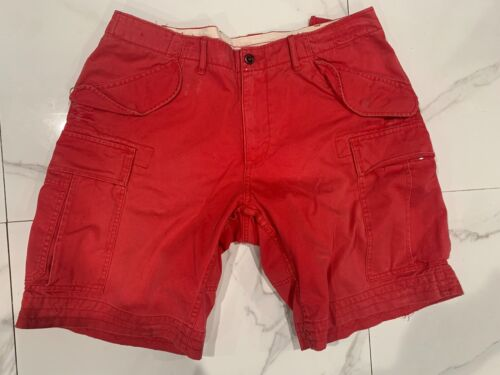 Ralph Lauren Polo RRL nantucket red cargo Shorts vintage noah faded distressed