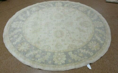 8' x 8' Tribal Hand Knotted Round Area Rug No: H 142525
