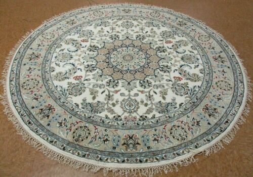 6' x 6' Tribal Hand Knotted Round Area Rug No: H 145746