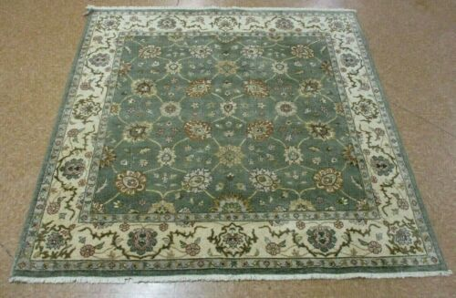 "6'1"" x 6'1"" Tribal Hand Knotted Area Rug No: H 137878"