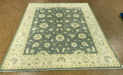 "8'1"" x 10' Tribal Hand Knotted Area Rug No: H 142152"
