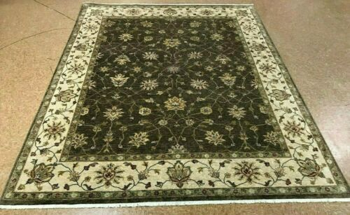"8'1"" x 10'3"" Tribal Hand Knotted Area Rug No: H 139455"