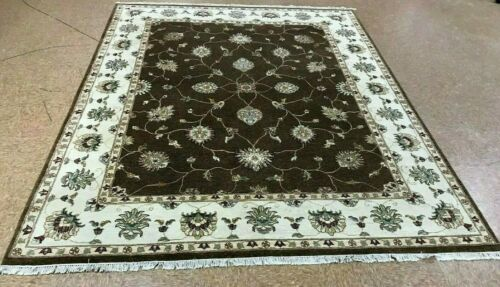 "8'1"" x 10'1"" Tribal Hand Knotted Area Rug No: H 140455"