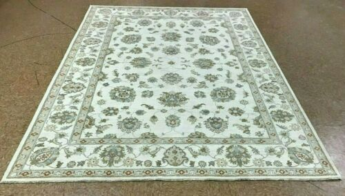 "8' x 10"" Tribal Hand Knotted Area Rug No: H 142405"