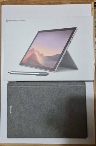 Surface Pro 7 - i5-1035G4, 128GB SSD, 8GB RAM - Signature Type Cover + Pen