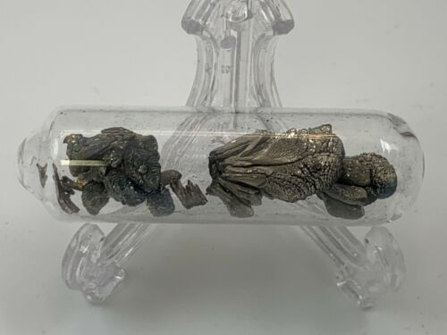 Barium Metal Crystals under argon in ampoule 99.95% 5 Gr Absolutely Stunning
