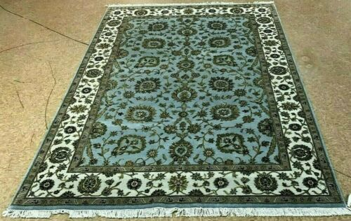 """6' x 9'2"""" Tribal Hand Knotted Round Area Rug No: H 145754"""