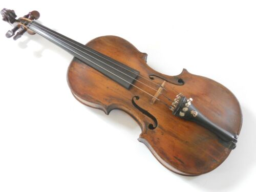 Vintage Antique Russian Greek ? Violin with Grafted Scroll #100320T