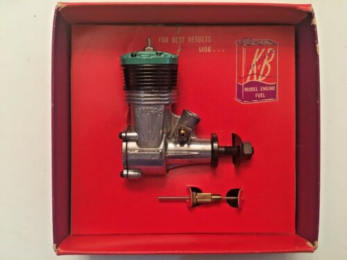 K&B .35 --(NOS)--NEVER FUELED, MOUNTED, OR RUN--HIGHLY COLLECTABLE QUALITY
