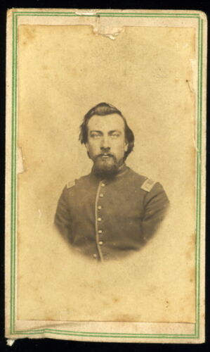 1860s CDV of Unnamed Union Officer Unnamed PhotographerPhotographs - 36039