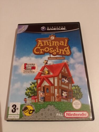 ANIMAL CROSSING GAMECUBE COMPLET