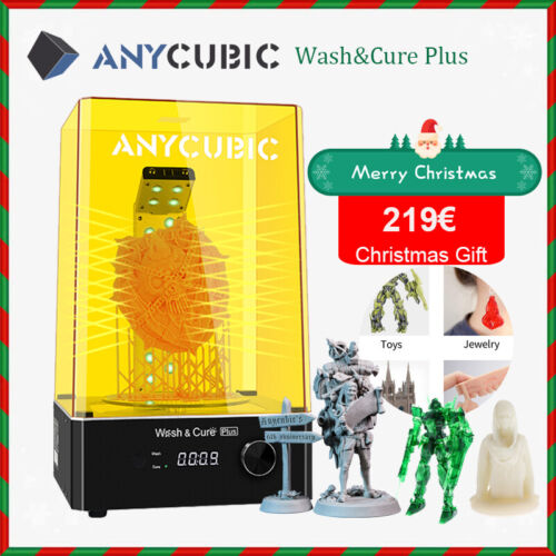 Pre-Order*Anycubic Grand Wash and Cure Plus 360° UV curing For LCD Imprimante 3D