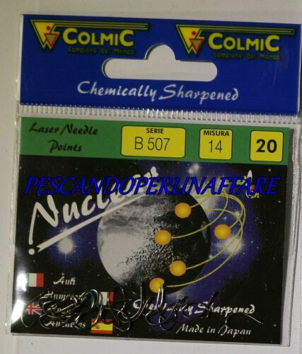 COLMIC NUCLEAR SERIES B507 carbon steel hooks made in japan