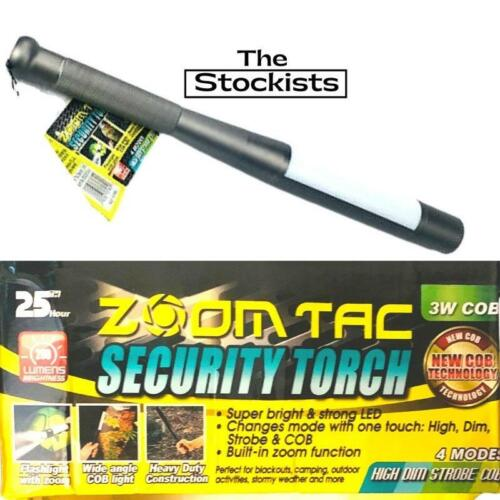 Zoom Tac Security Torch-New COB Technology