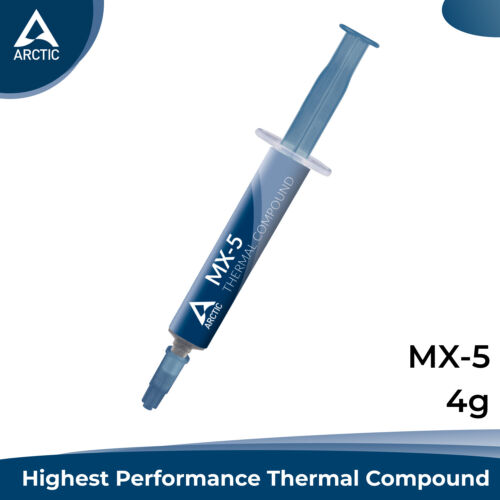 Arctic Cooling MX-5 Thermal Compound Paste for Heatsink Syringe Grease CPU 4g