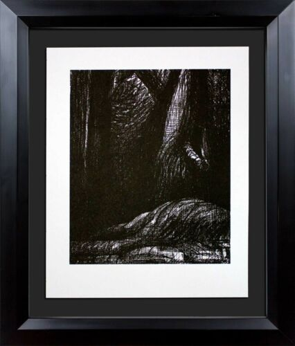 """Henry MOORE Lithograph ORIGINAL """"Cavern"""" Ltd. Edition w/Archival FRAME"""