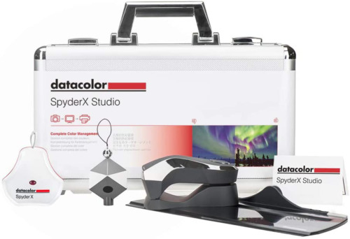 Datacolor SpyderX Studio: Photo Tool for Control from Capture to Editing & Print