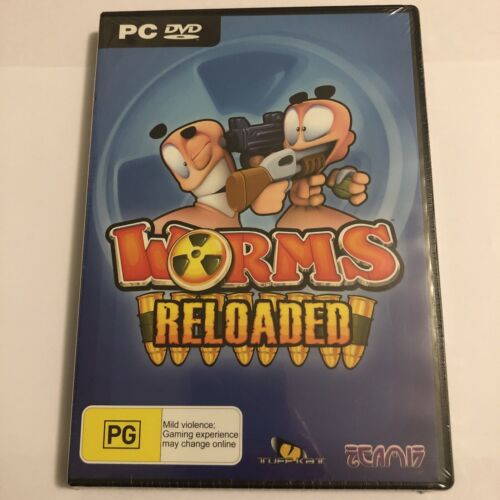 Worms Reloaded PC DVD Rom - New & Sealed