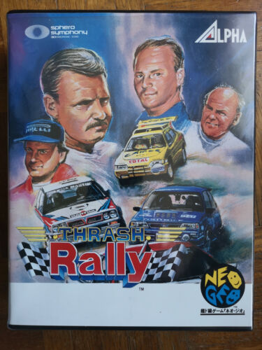 THRASH RALLY NEO GEO AES COMPLET