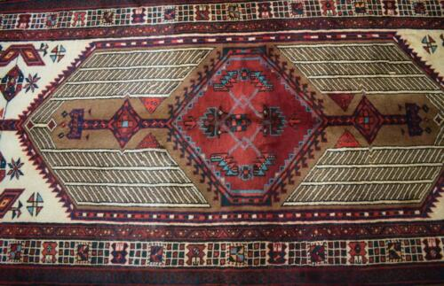 3'3 x 6'10 Delightful Kurdish S Antique Tribal Hand Knotted Wool Area Rug 3 x 7