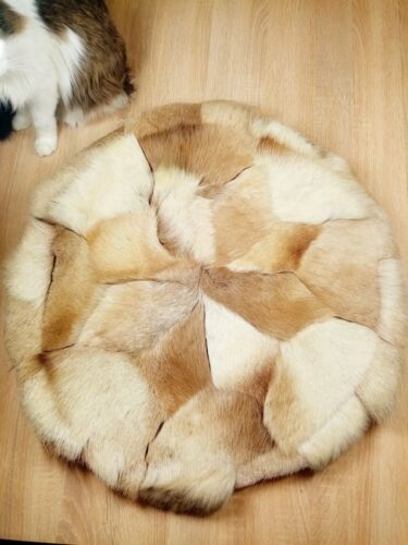 Rug from the wool of the Yakut deer
