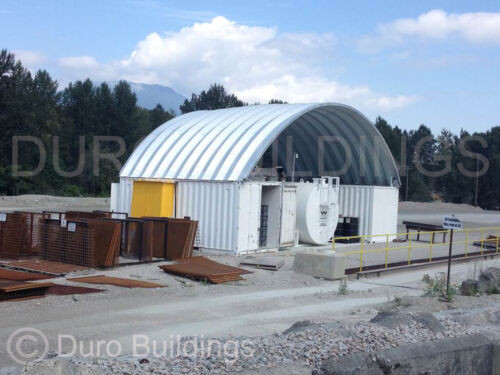 DuroSPAN Steel 30x20x14 Metal Building Shipping Container Cover Open Ends DiRECT
