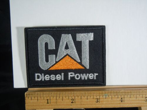 """CAT  Caterpillar Diesel  Iron-on Embroidered Patch  3"""""""