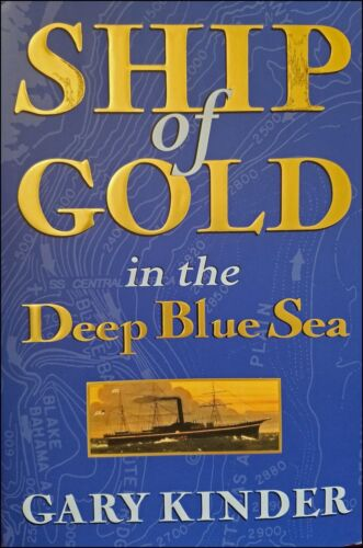 SS Central America, Tommy Thompson, Ship of Gold in the Deep Blue Sea, New!