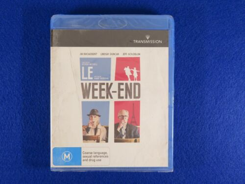 Le WeekEnd - Brand New Still Sealed - Blu Ray - Free Postage !!