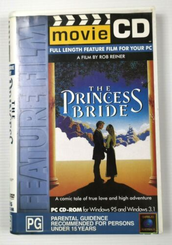 THE PRINCESS BRIDE Movie CD Windows 95 CD-ROM Rare and Hard to Find